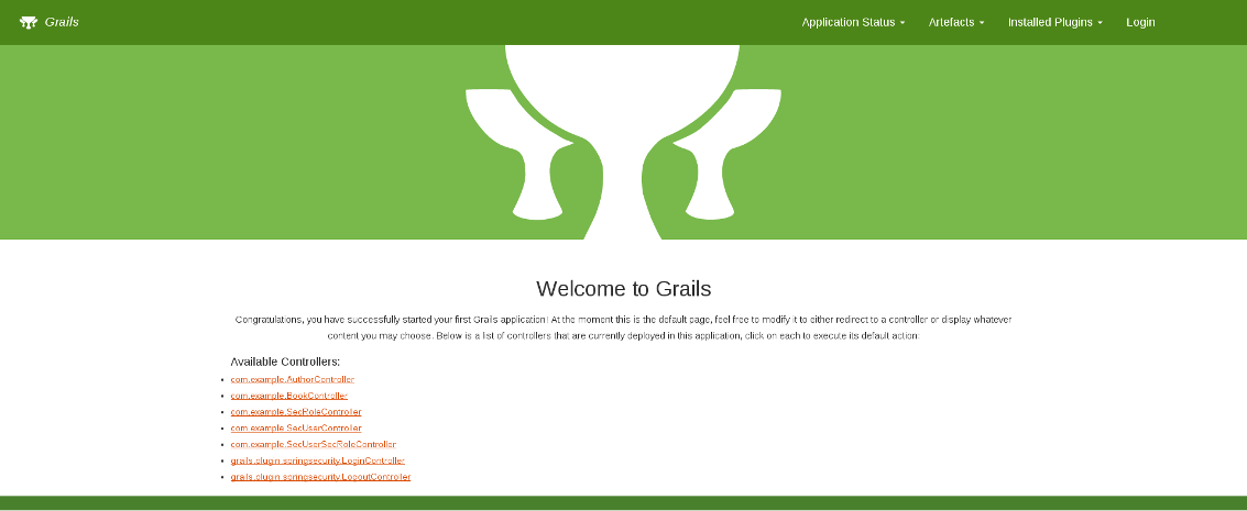 grails multi project home page